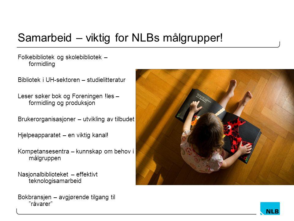 Samarbeid – viktig for NLBs målgrupper!