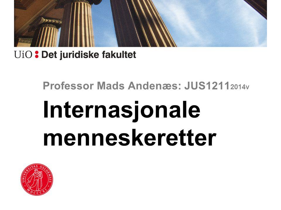 Professor Mads Andenæs: JUS12112014v