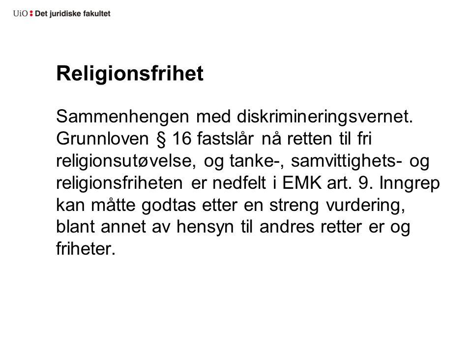 Religionsfrihet