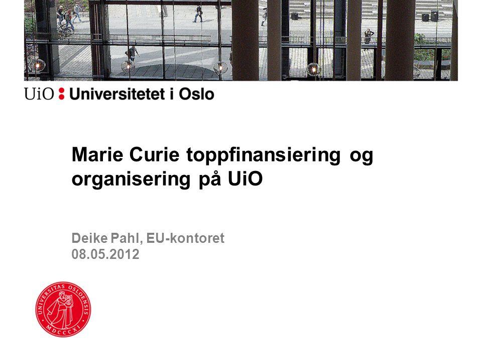 Deike Pahl, EU-kontoret 08.05.2012