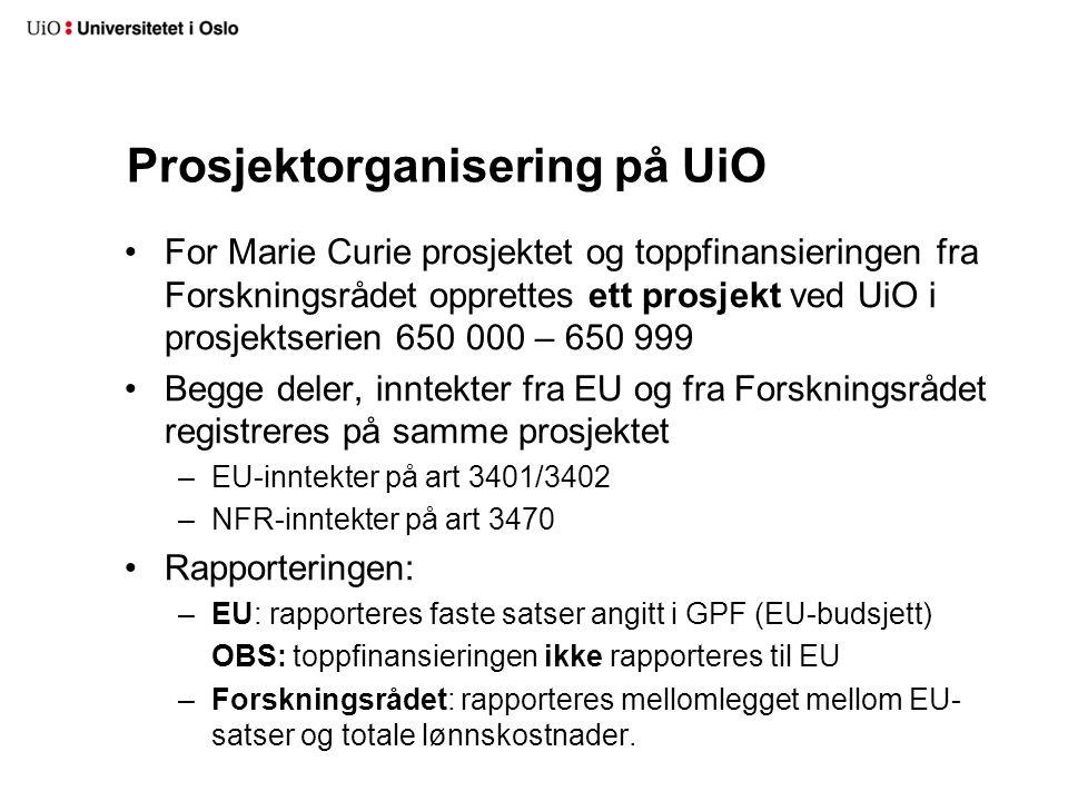 Prosjektorganisering på UiO