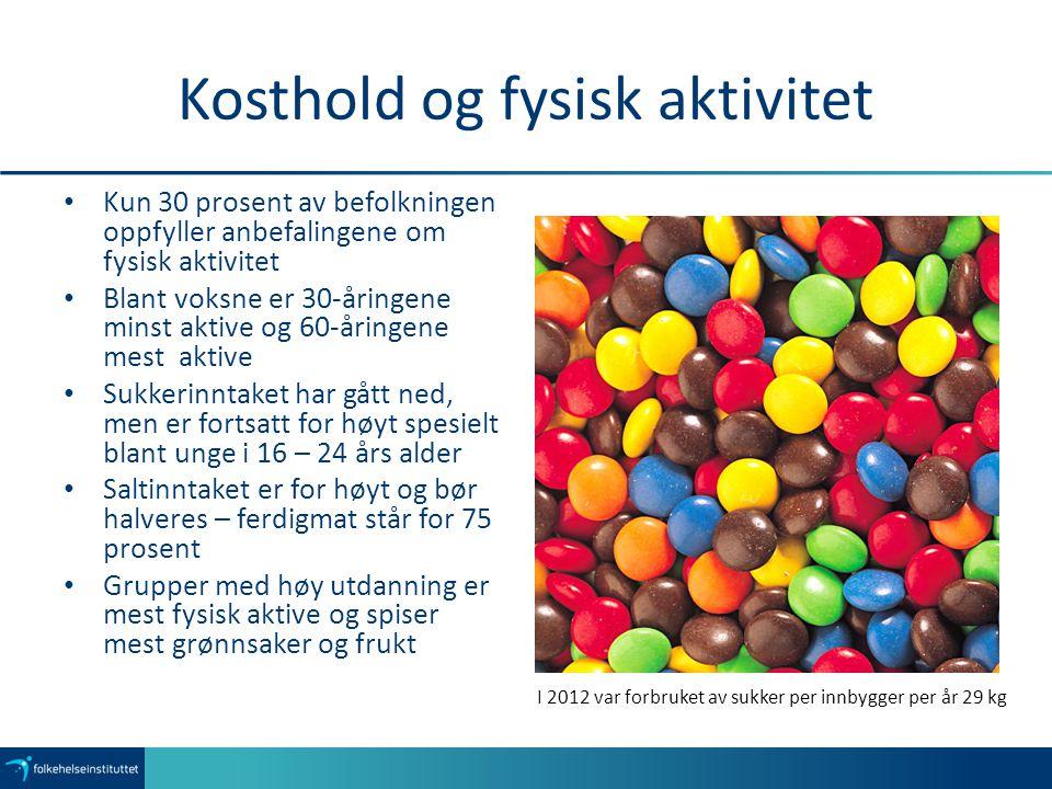 Kosthold og fysisk aktivitet