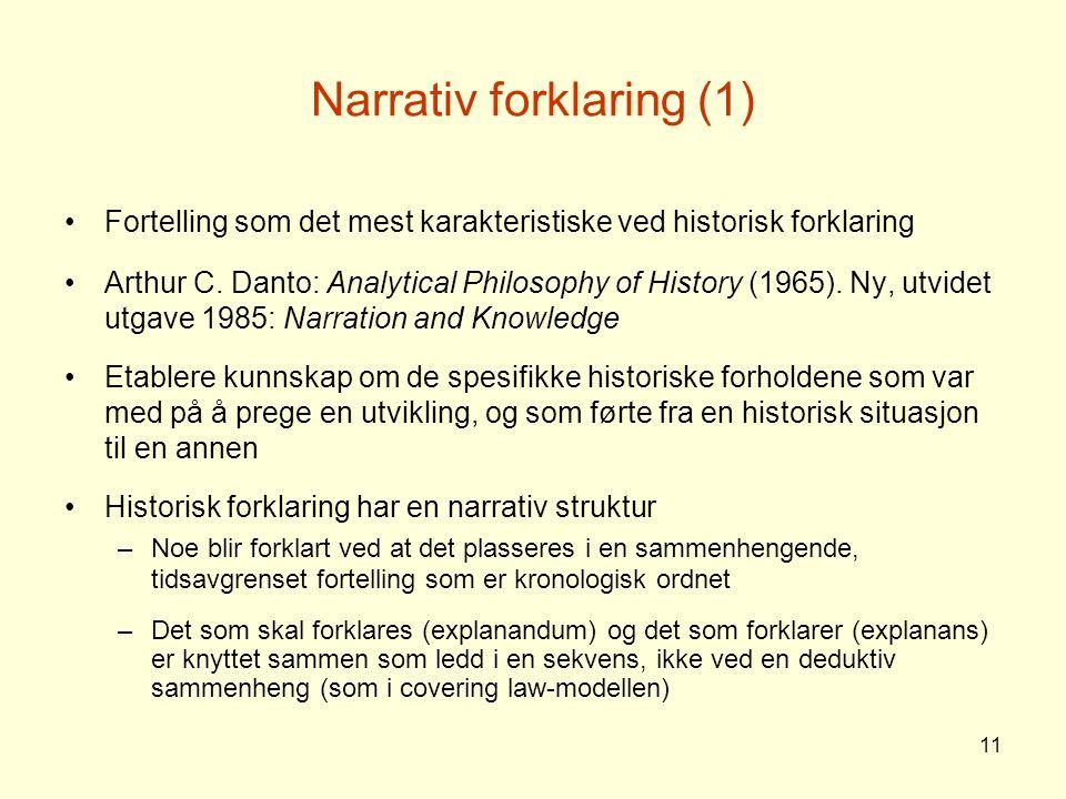 Narrativ forklaring (1)