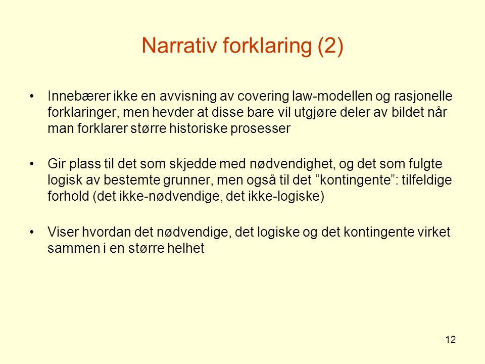 Narrativ forklaring (2)