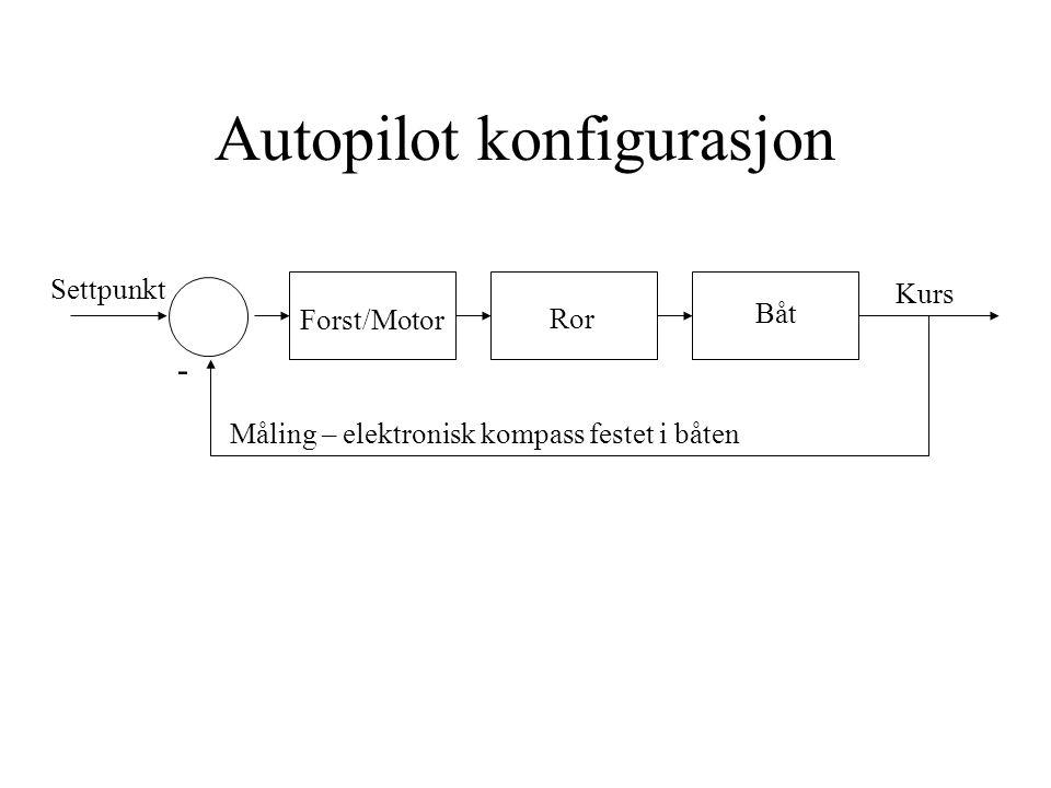 Autopilot konfigurasjon