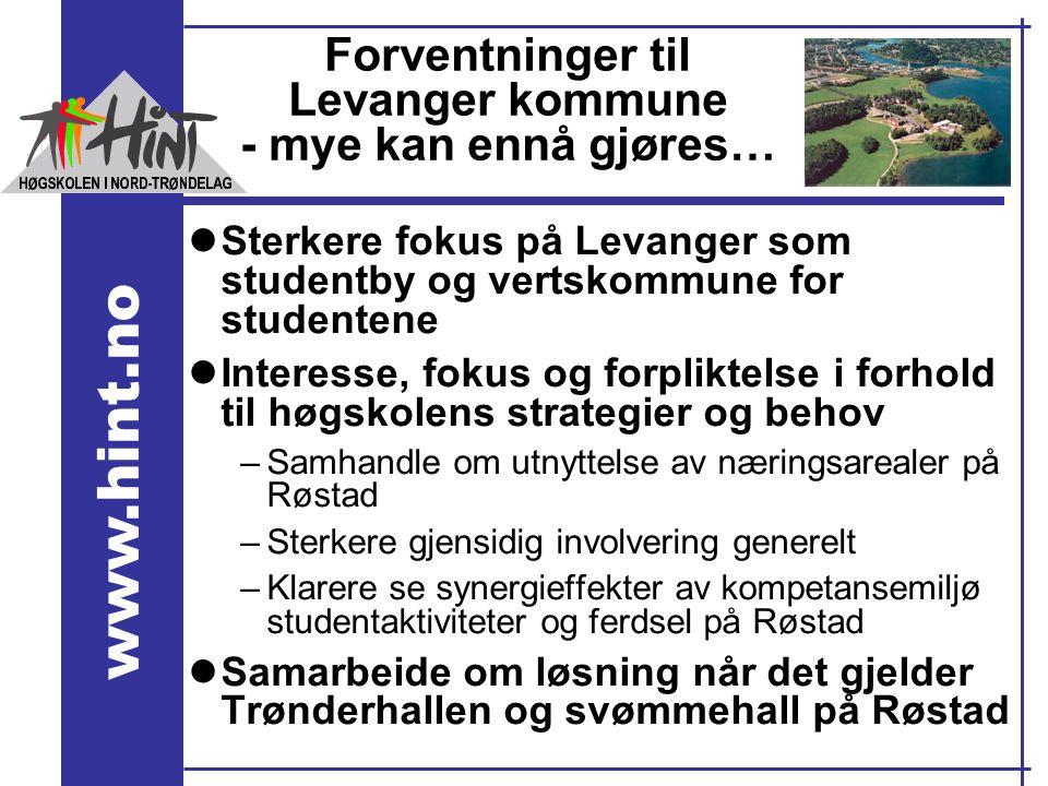 Forventninger til Levanger kommune - mye kan ennå gjøres…