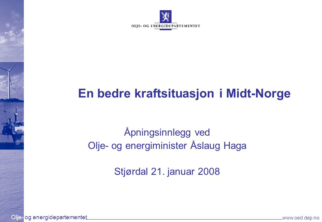 En bedre kraftsituasjon i Midt-Norge