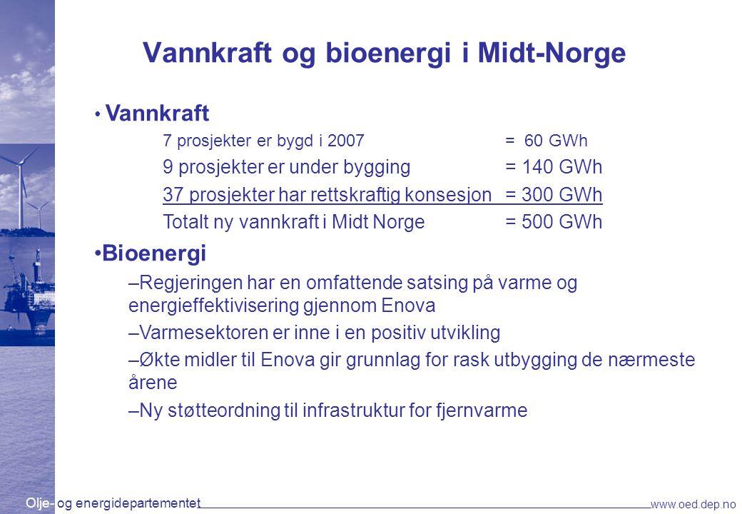 Vannkraft og bioenergi i Midt-Norge