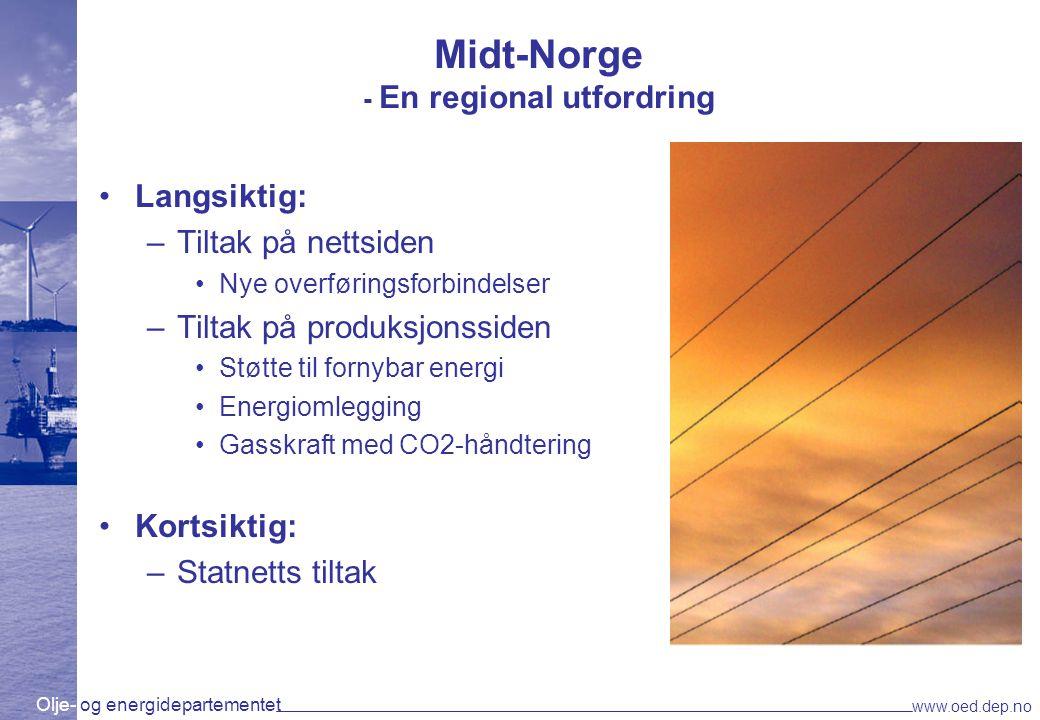 Midt-Norge - En regional utfordring