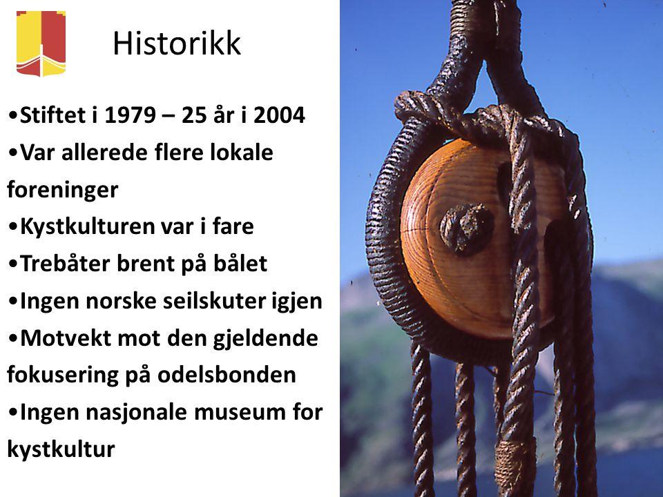 Historikk Stiftet i 1979 – 25 år i 2004