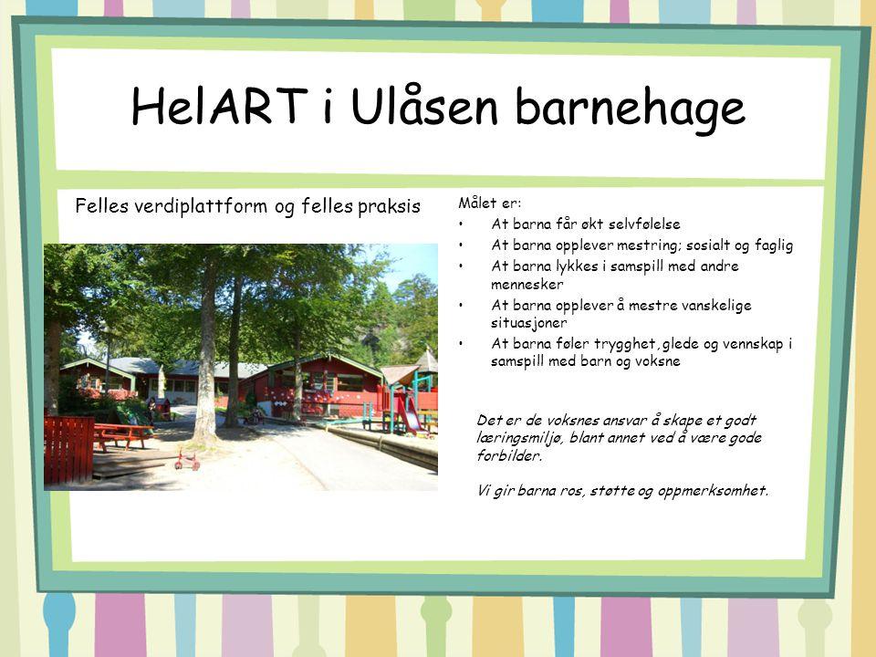 HelART i Ulåsen barnehage