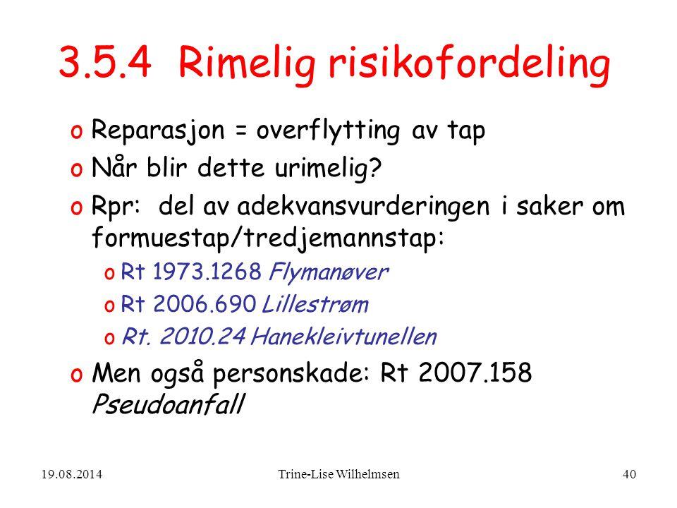 3.5.4 Rimelig risikofordeling