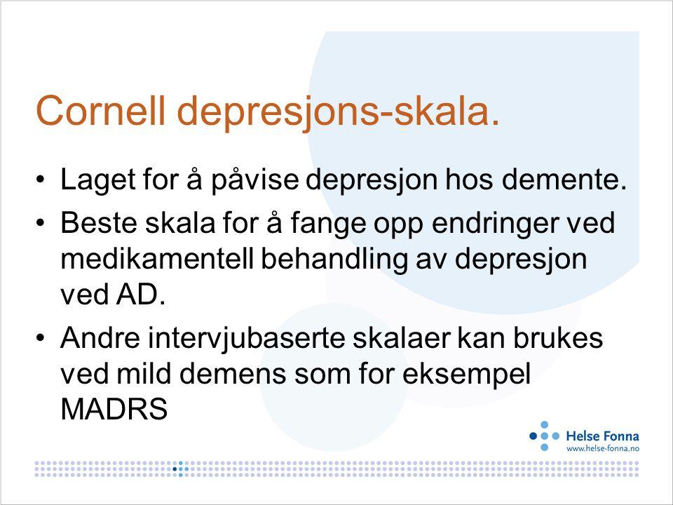 Cornell depresjons-skala.