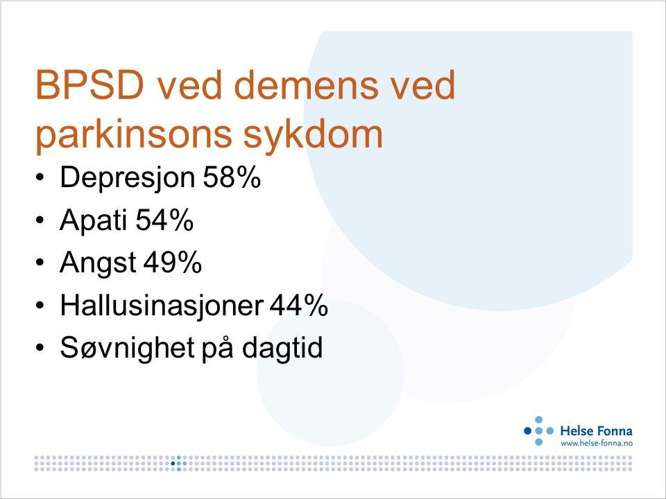 BPSD ved demens ved parkinsons sykdom