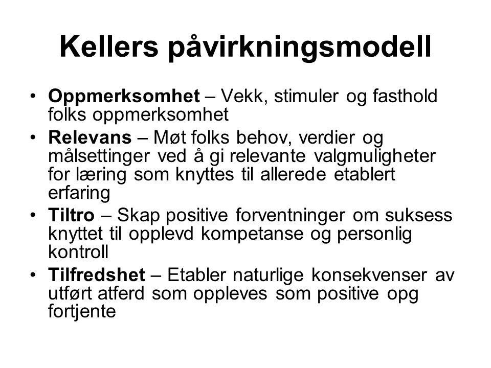 Kellers påvirkningsmodell