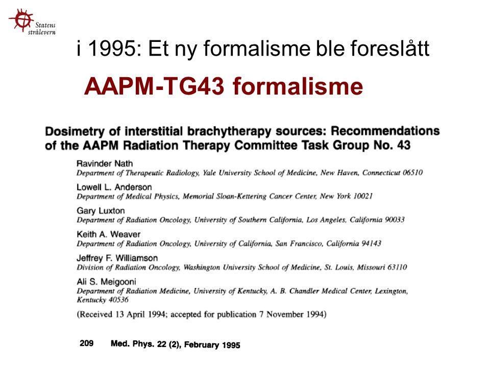 i 1995: Et ny formalisme ble foreslått