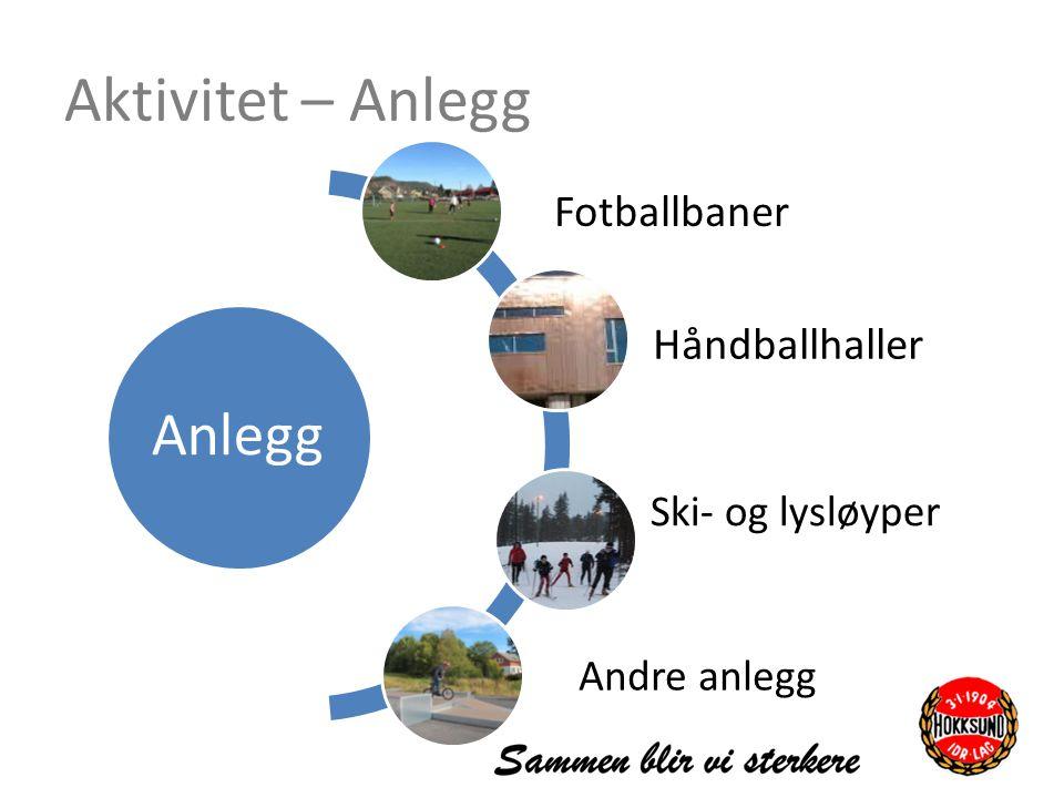 Aktivitet – Anlegg Anlegg Fotballbaner Håndballhaller