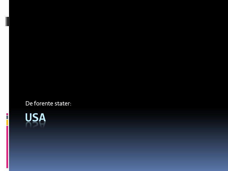 De forente stater: USA