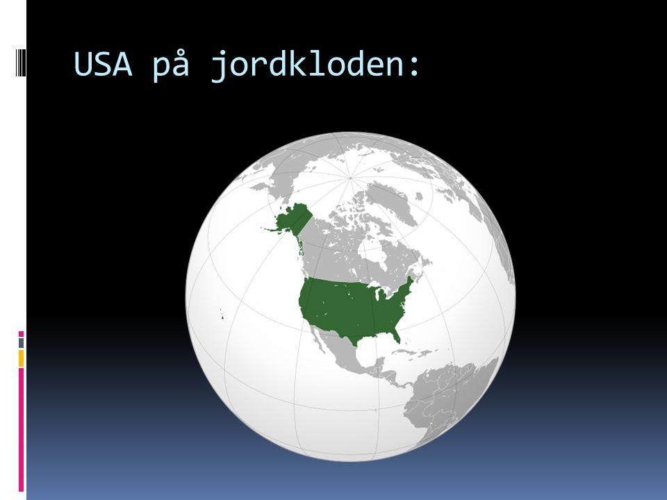 USA på jordkloden: