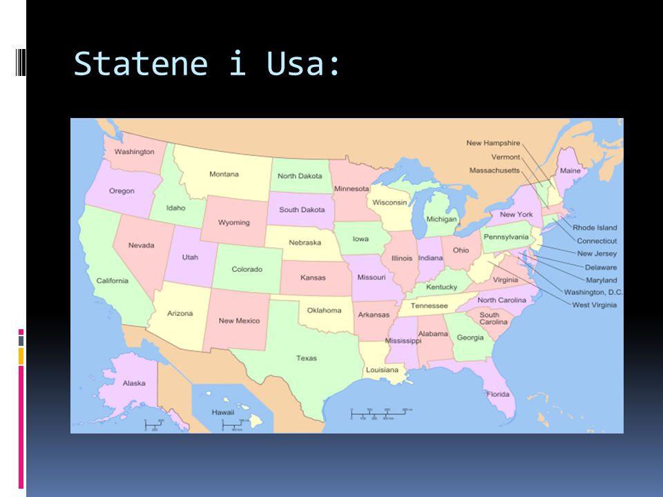 Statene i Usa: