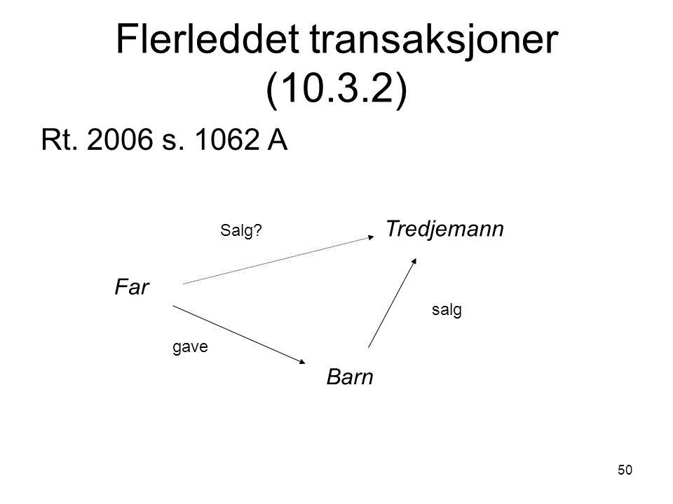 Flerleddet transaksjoner (10.3.2)