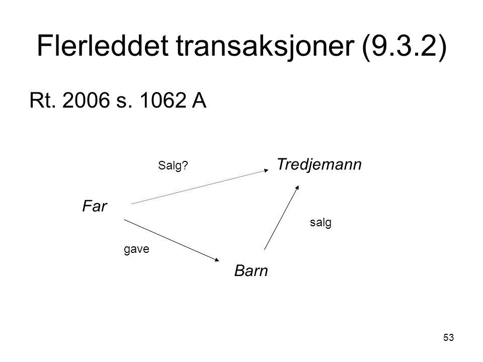 Flerleddet transaksjoner (9.3.2)