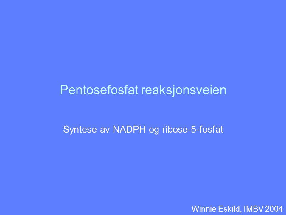 Pentosefosfat reaksjonsveien