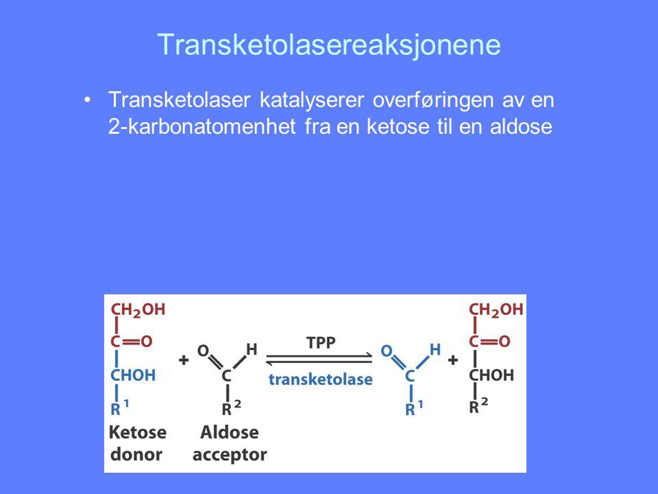 Transketolasereaksjonene
