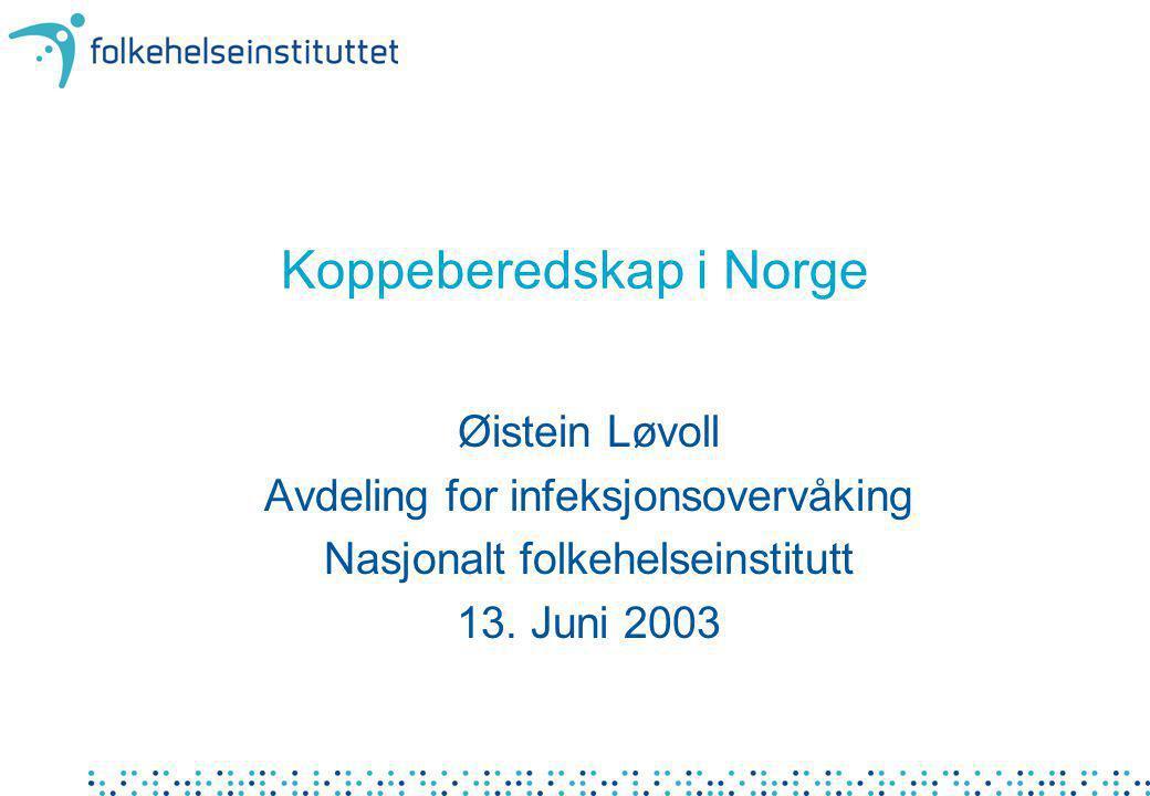 Koppeberedskap i Norge
