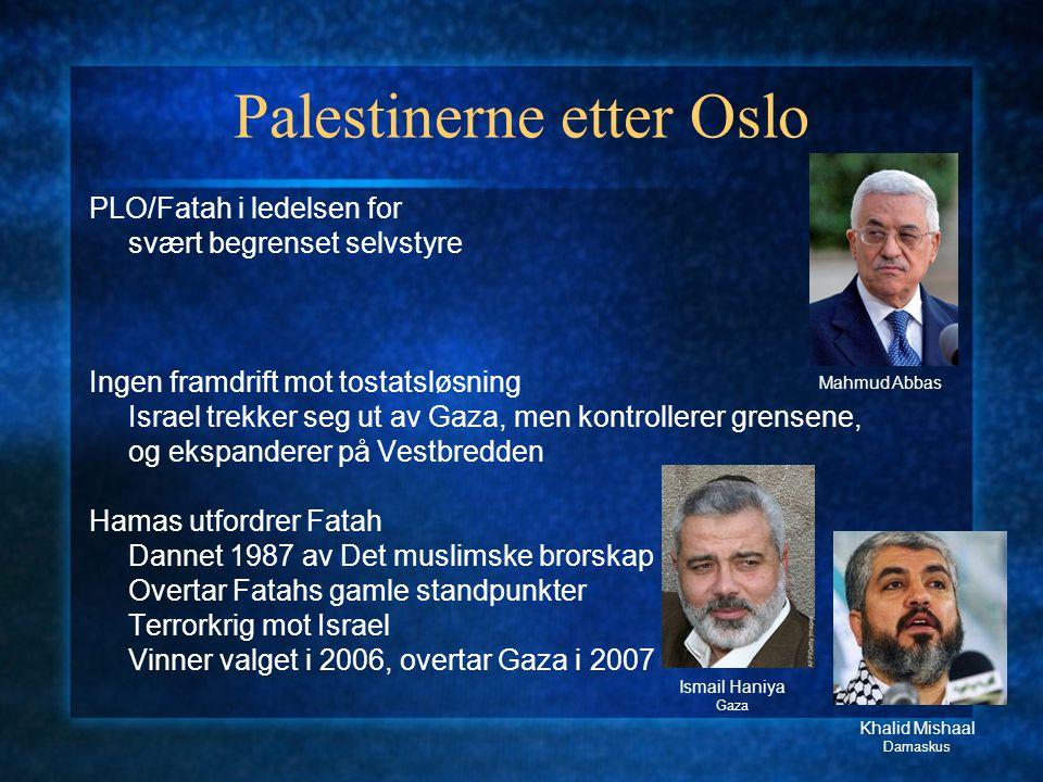Palestinerne etter Oslo