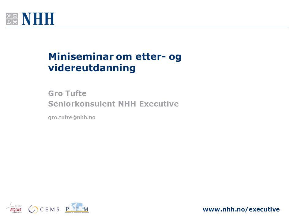 Miniseminar om etter- og videreutdanning