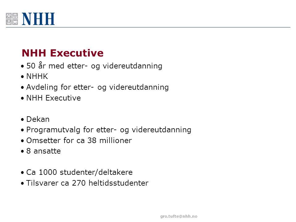 NHH Executive 50 år med etter- og videreutdanning NHHK