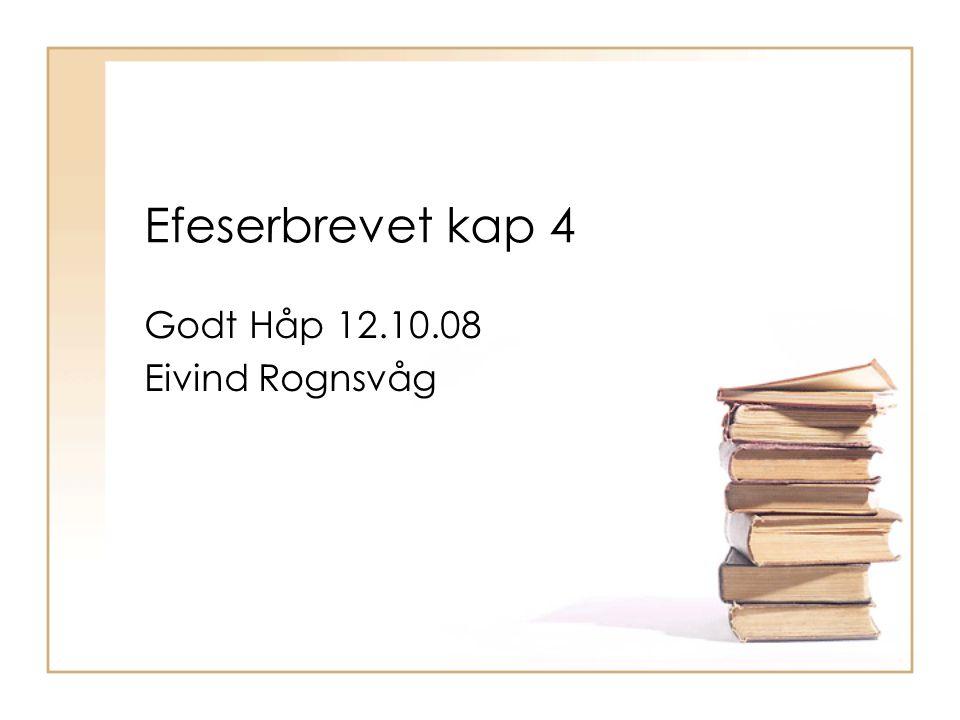 Godt Håp 12.10.08 Eivind Rognsvåg