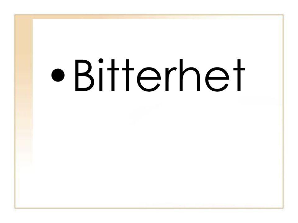 Bitterhet