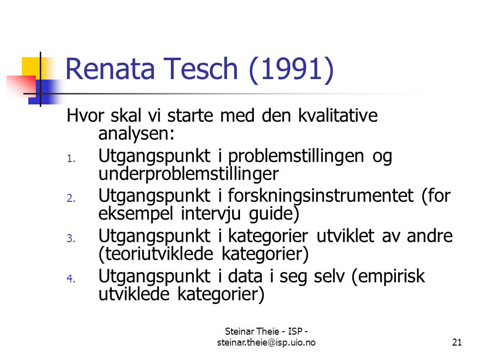 Steinar Theie - ISP - steinar.theie@isp.uio.no