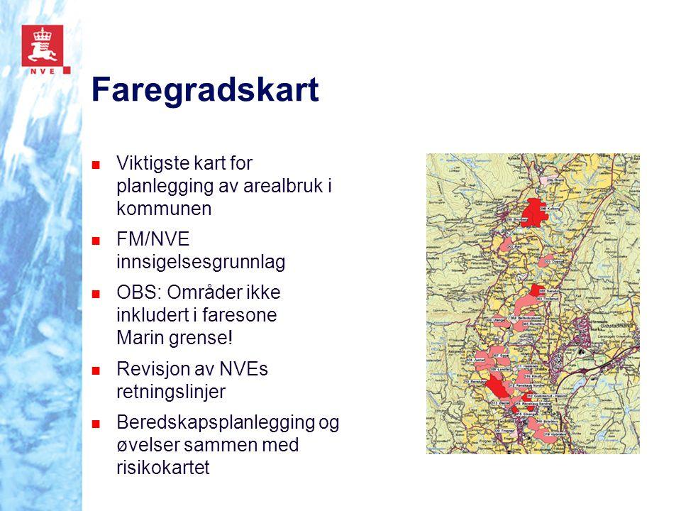 Faregradskart Viktigste kart for planlegging av arealbruk i kommunen