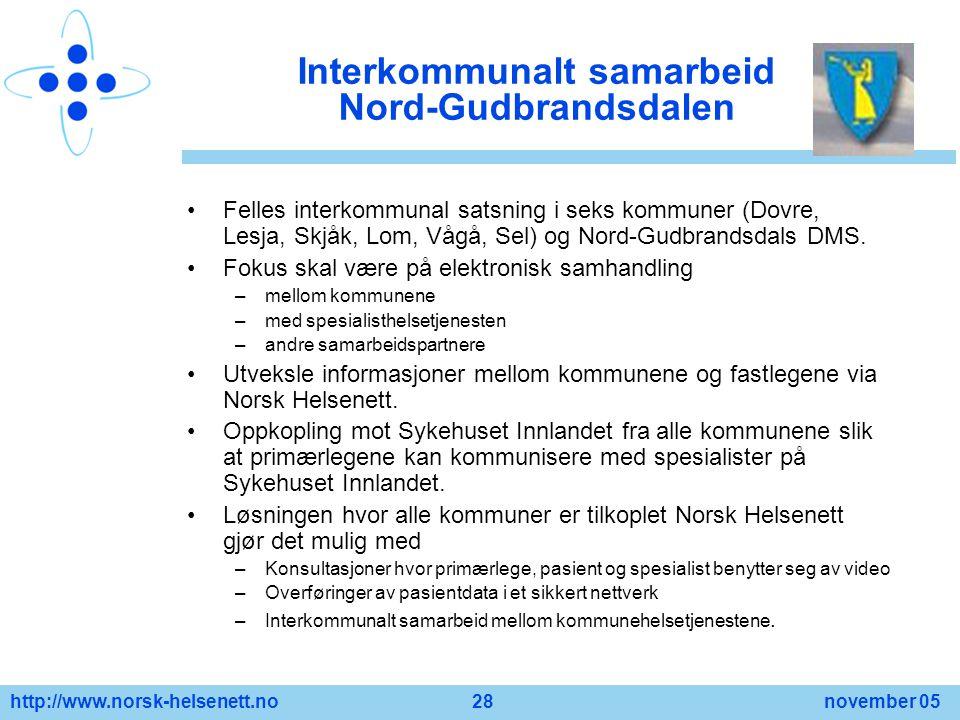 Interkommunalt samarbeid Nord-Gudbrandsdalen
