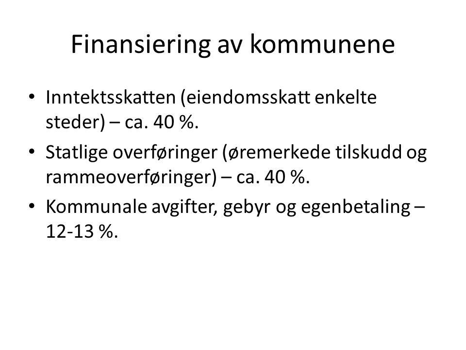 Finansiering av kommunene