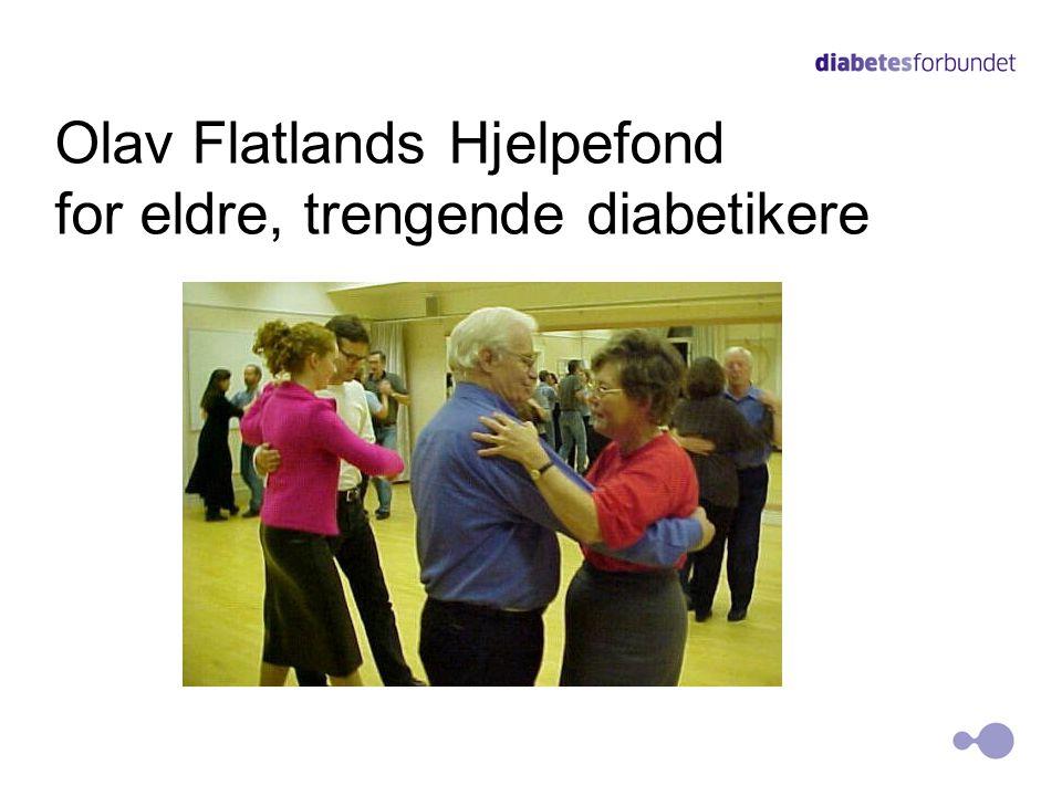 Olav Flatlands Hjelpefond for eldre, trengende diabetikere