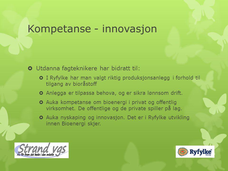 Kompetanse - innovasjon