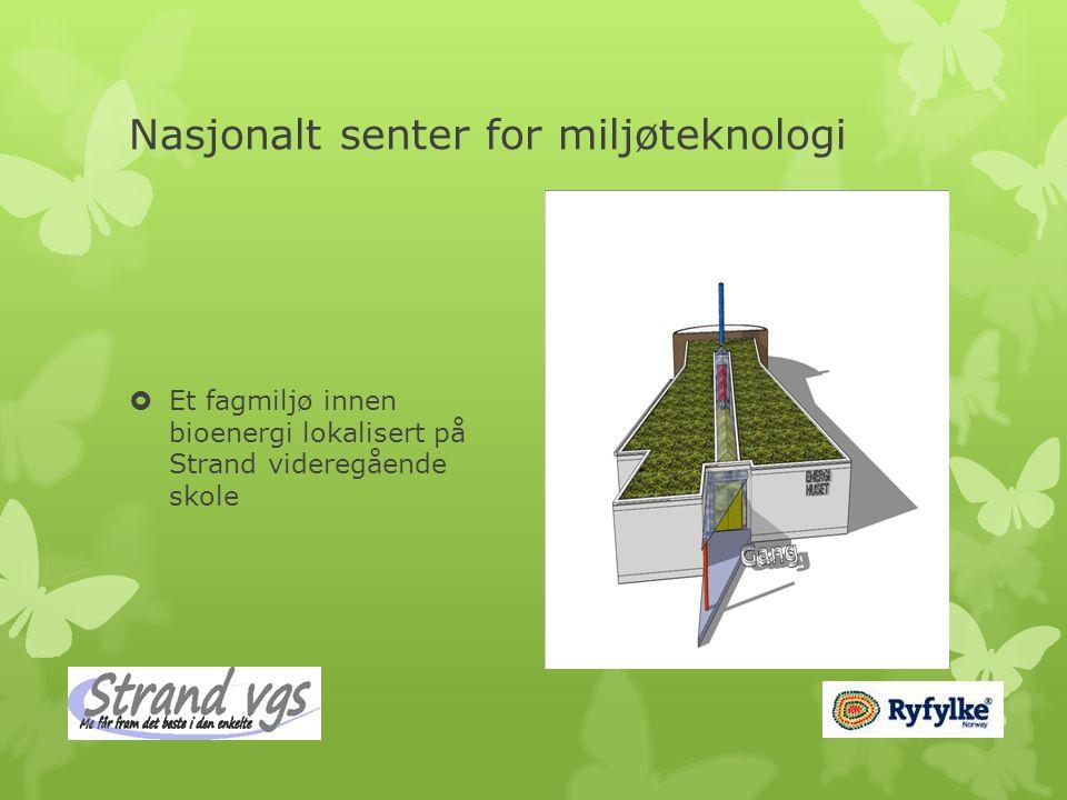 Nasjonalt senter for miljøteknologi