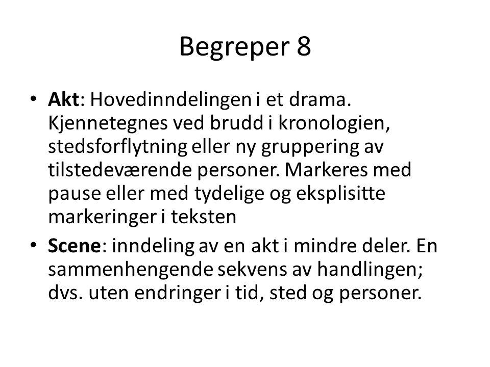 Begreper 8