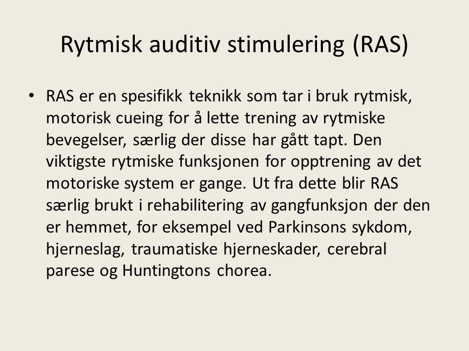 Rytmisk auditiv stimulering (RAS)
