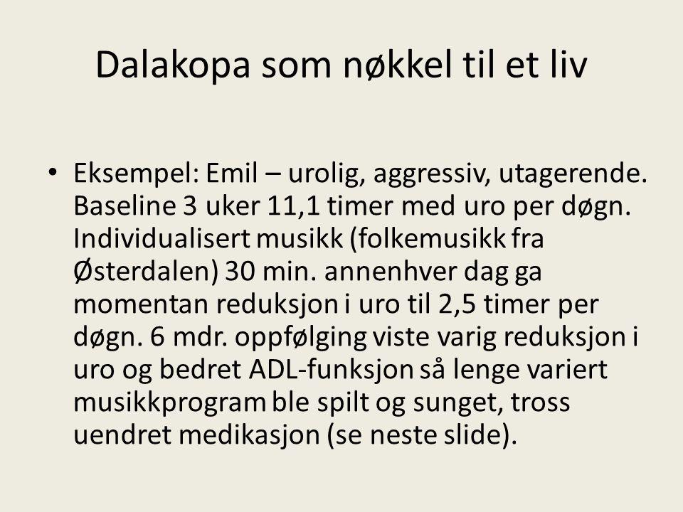 Dalakopa som nøkkel til et liv