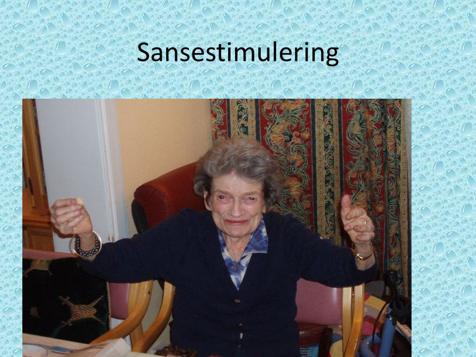 Sansestimulering