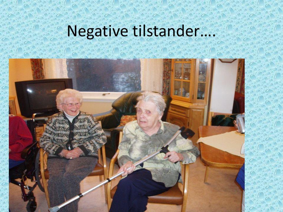 Negative tilstander….