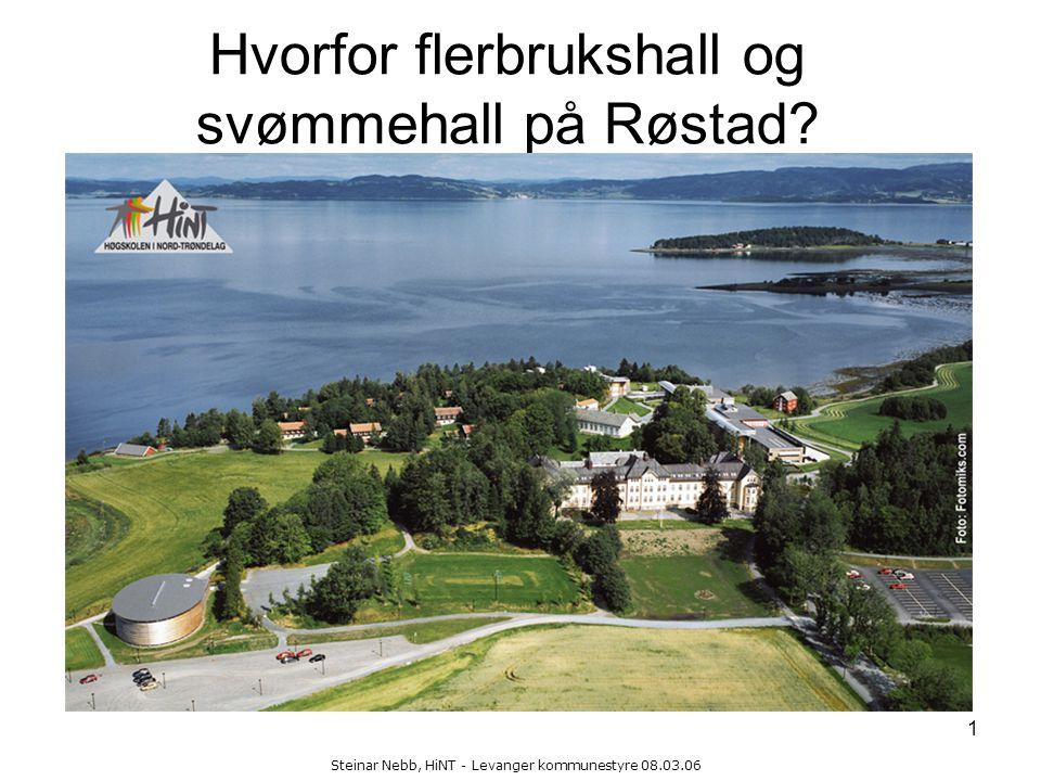 Hvorfor flerbrukshall og svømmehall på Røstad