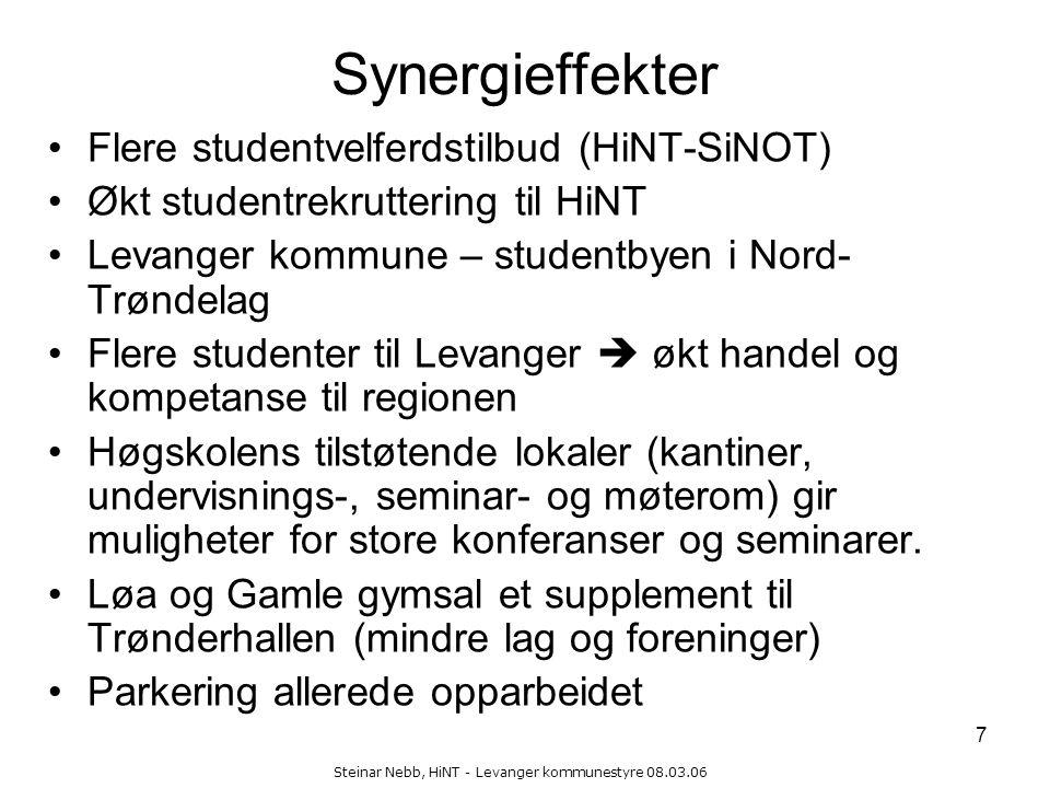 Steinar Nebb, HiNT - Levanger kommunestyre 08.03.06