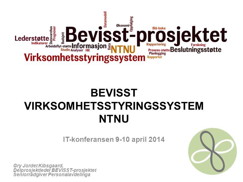 BEVISST VIRKSOMHETSSTYRINGSSYSTEM NTNU