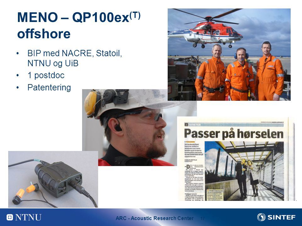 MENO – QP100ex(T) offshore